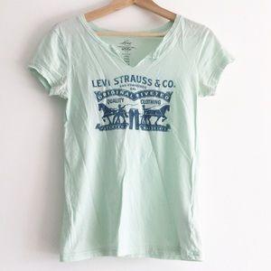 Levi's Vintage Logo V-Neck T-shirt XS